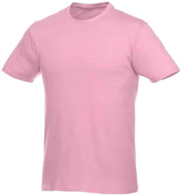 t-paita logopainatuksella vaaleanpunainen