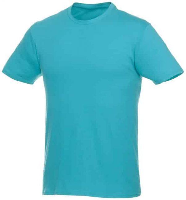 t-paita logopainatuksella turkoosi