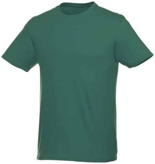 t-paita logopainatuksella tummanvihreä