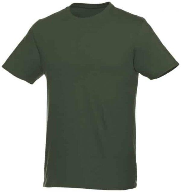 t-paita logopainatuksella tumman vihreä