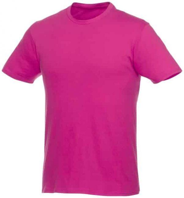 t-paita logopainatuksella pinkki