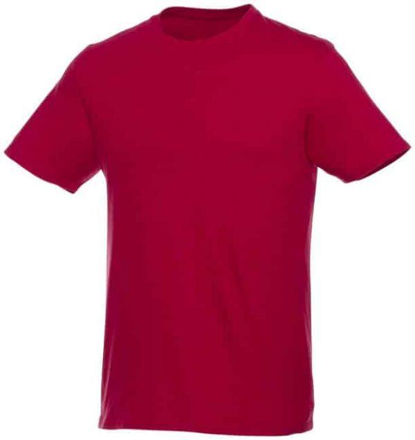t-paita logopainatuksella punainen
