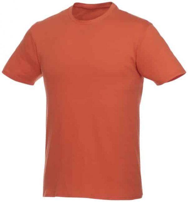 t-paita logopainatuksella oranssi