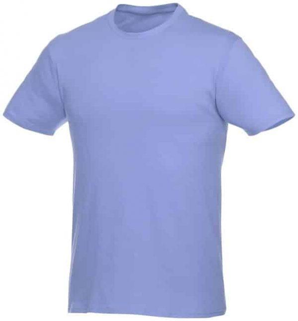 t-paita logopainatuksella vaaleansininen