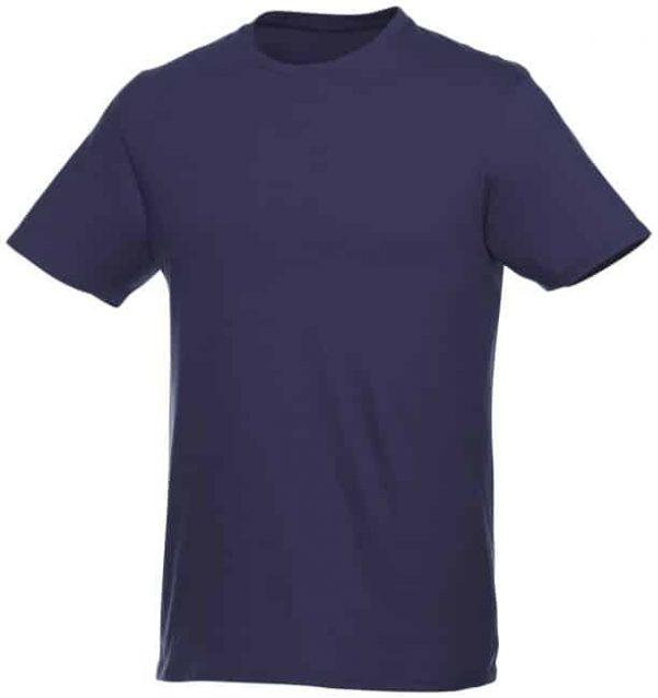t-paita logopainatuksella tummansininen