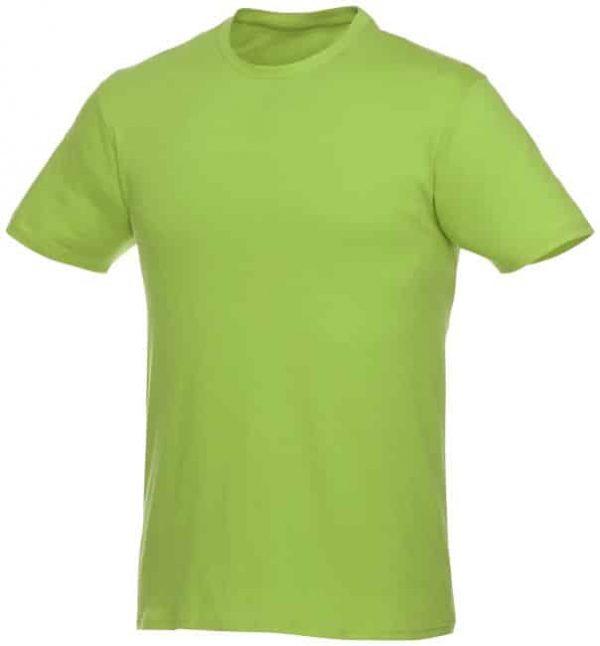 t-paita logopainatuksella vihreä