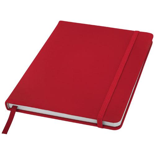 punainen muistikirja logolla