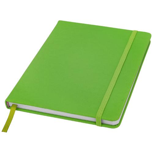 vihreä muistikirja logolla