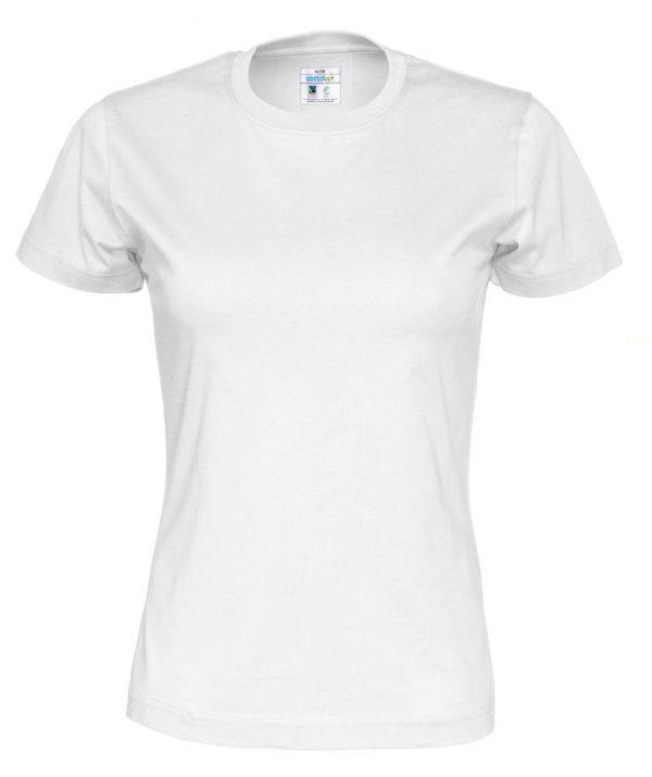 t-paita luomupuuvilla valkoinen