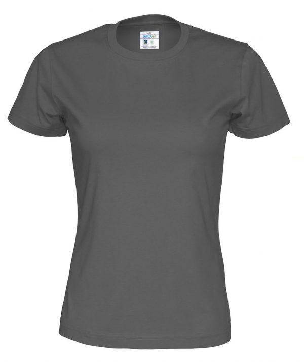 t-paita luomupuuvilla harmaa