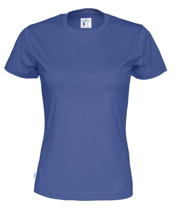 t-paita luomupuuvilla sininen