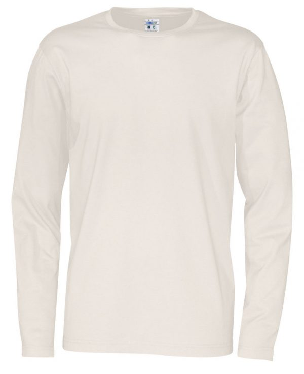 Cottover pitkähihainen t-paita luomupuuvillaa