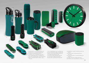 vihreät mainoslahjat